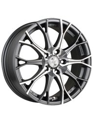 Racing Wheels H-530 6.5x15 5x100 ET 35 Dia 67.1 DDN F/P - фото 1