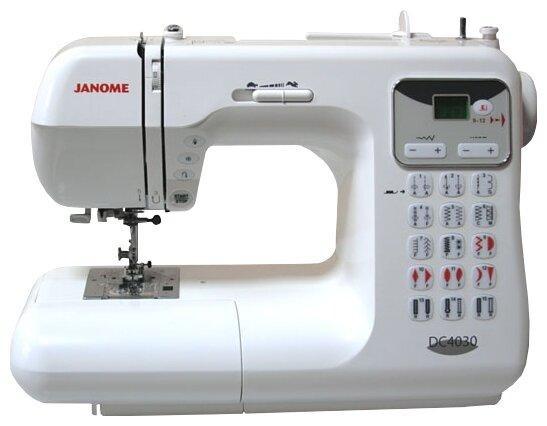 Сравнение с Janome DC 4030