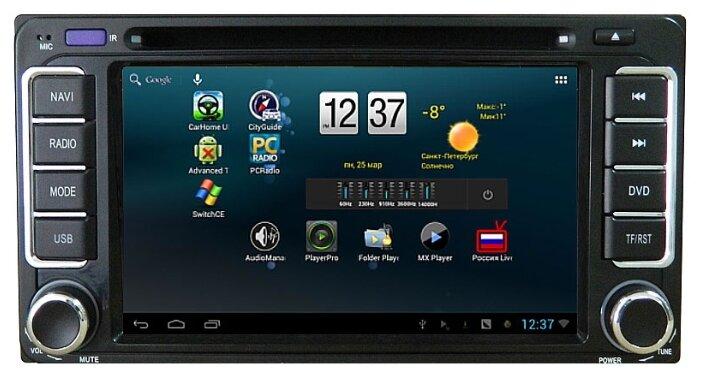 RedPower 15071 CarPad Android Toyota Land Cruiser Prado 120