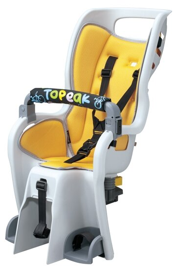 Заднее велокресло Topeak BabySeat II & Disc Mount Rack