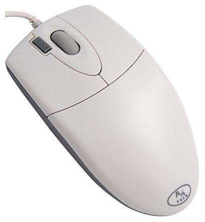 Мышь A4Tech OP-620D White USB+PS/2