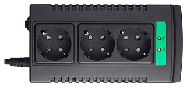 Стабилизатор напряжения однофазный APC by Schneider Electric Line-R LS1000-RS (0.5 кВт)