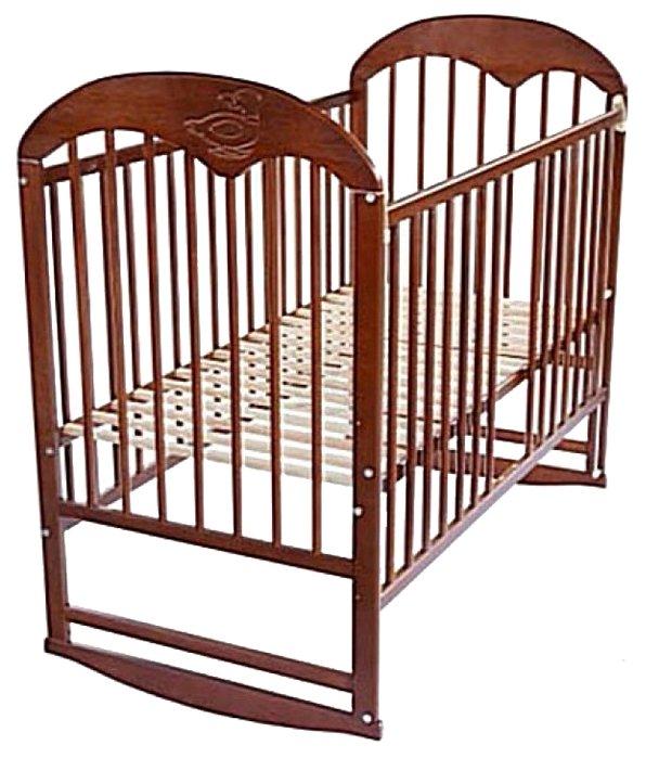 Кроватка Bocian Oskar (качалка), на полозьях