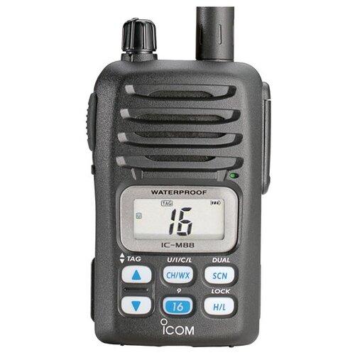 Рация ICOM IC-M88 IS черный