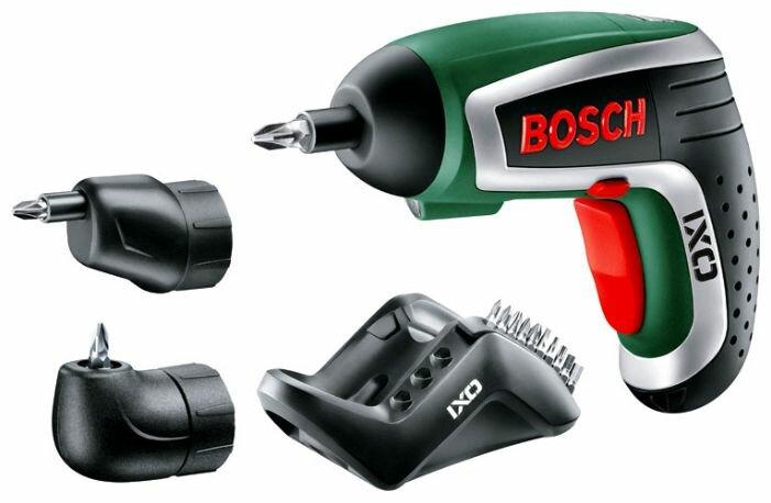 Аккумуляторная отвертка BOSCH IXO 4 set