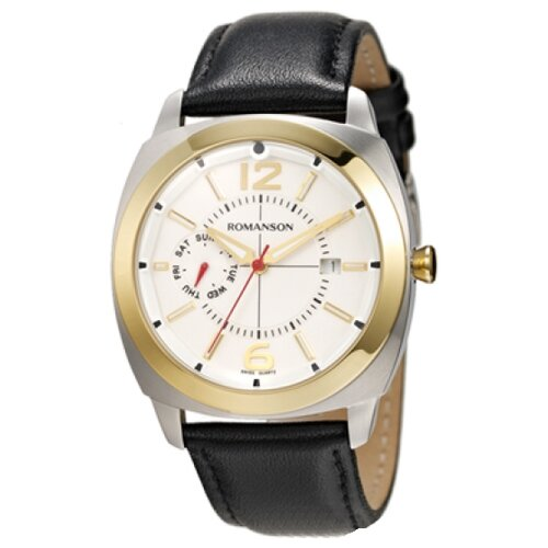 Наручные часы ROMANSON TL3220FMC(WH)BK romanson tl 1273h mw wh bk