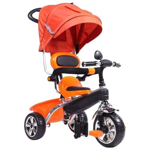Купить Трехколесный велосипед Pit stop MT-BCL0815011 оранжевый, Трехколесные велосипеды