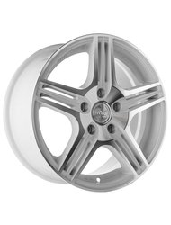 Racing Wheels H-414 7x17 5x100 ET 45 Dia 73.1 BK F/P - фото 1