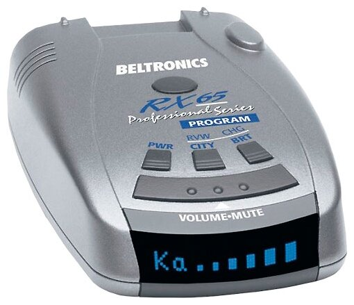 Beltronics RX65i Blue