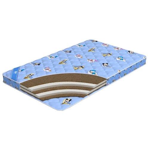 Матрас детский Промтекс-Ориент Biba Комби 9 60x140 голубой fit 10256