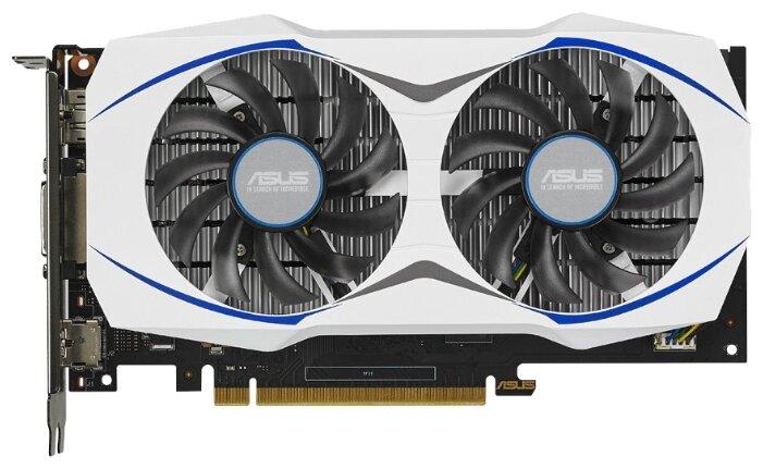 ASUS GeForce GTX 950 1076Mhz PCI-E 3.0 2048Mb 6610Mhz 128 bit DVI HDMI HDCP