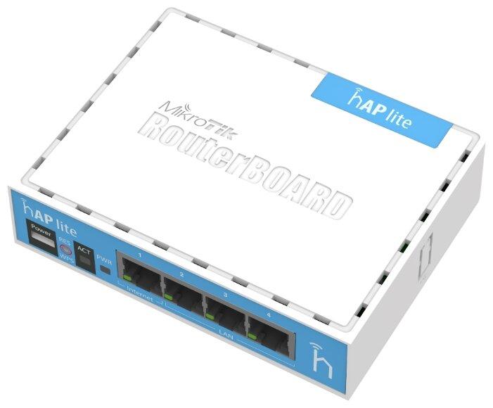MikroTik Wi-Fi роутер MikroTik hAP lite