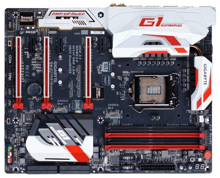 GIGABYTE Материнская плата GIGABYTE GA-Z170X-Gaming 7-EU (rev. 1.0)