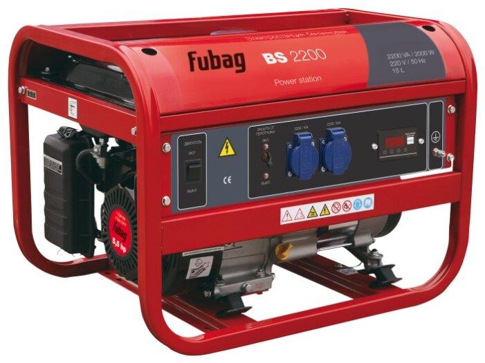 Бензиновая электростанция Fubag BS 2200