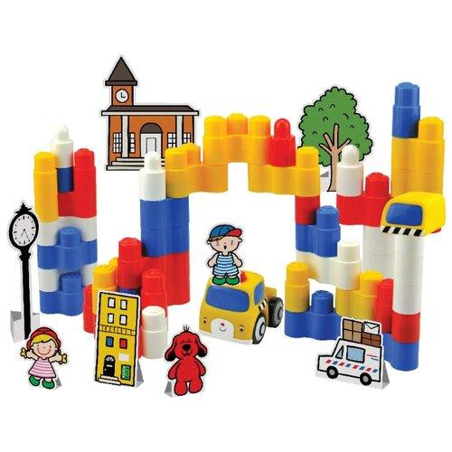 Купить Конструктор K's Kids Popbo Blocks KA10750 Построй свой город, Конструкторы