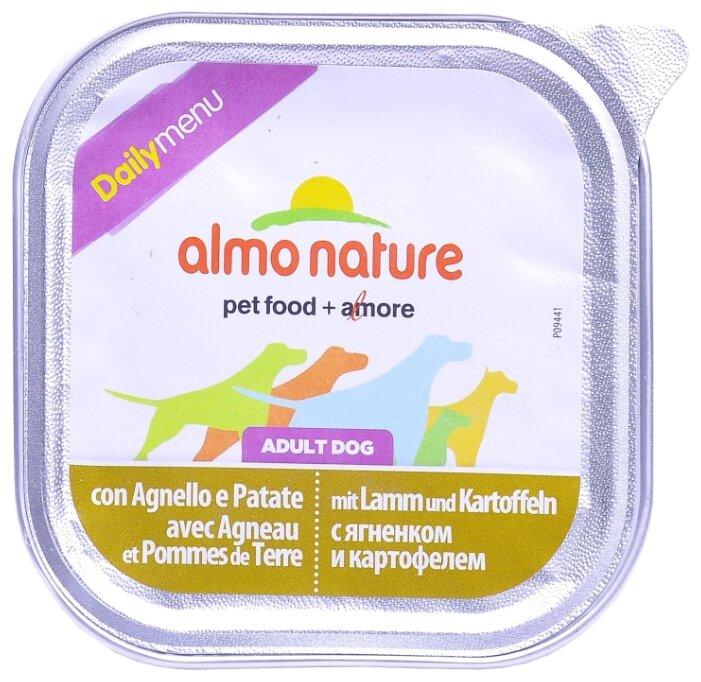 Корм для собак Almo Nature Daily Menu ягненок с картофелем 300г