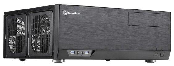SilverStone GD09B Black