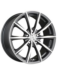 Колесный диск Racing Wheels H-536 6.5x15 5x112 ET40 57.1 BK F/P - фото 1