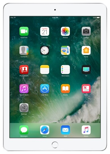 Планшет Apple iPad (2017) 128Gb Wi-Fi silver