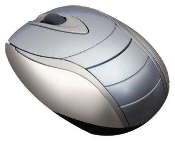 Мышь Chicony MS-0527 Blue-Silver USB
