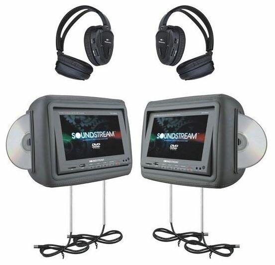 Автомобильный монитор Soundstream VHD-9