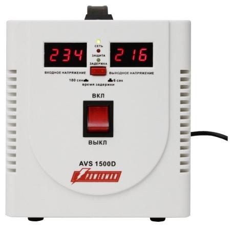 Стабилизатор напряжения powerman avs 1500d отзывы бензиновый генератор huter dy 2500