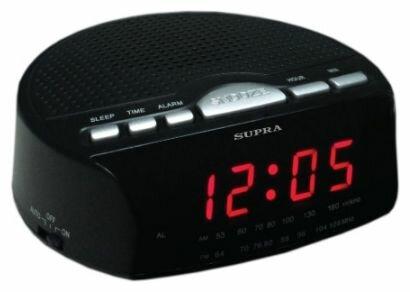 Радиобудильник SUPRA SA-26FM