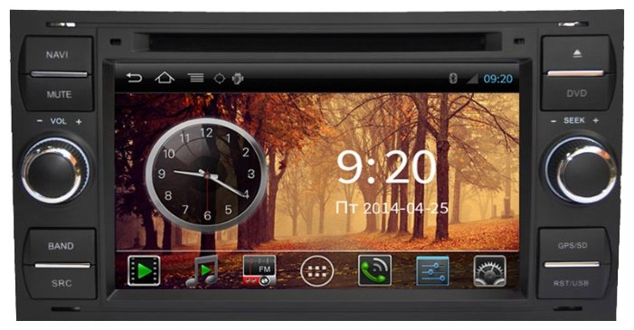 FarCar s150 Ford Kuga, Fusion, C-Max, Galaxy,Focus на Android (i140)