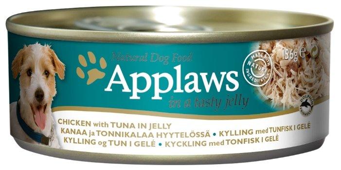 Корм для собак Applaws курица, тунец 156г