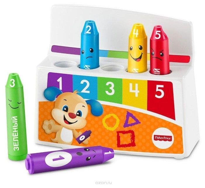 Интерактивная развивающая игрушка Fisher-Price Смейся и учись. Обучающие карандаши