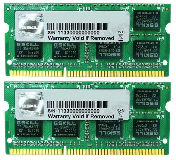 G.SKILL Оперативная память G.SKILL F3-1333C9D-16GSL