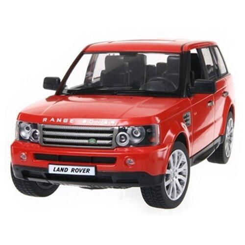 Внедорожник Rastar Land Rover Range Rover Sport (28200) 1:14 34 см красный цена 2017