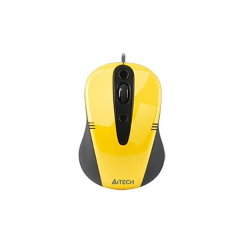 Мышь A4Tech Q4-370X-3 Yellow USB