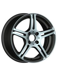 Диски Racing Wheels H-568 6,5x15 5x105 D56.6 ET38 цвет BK/FP - фото 1