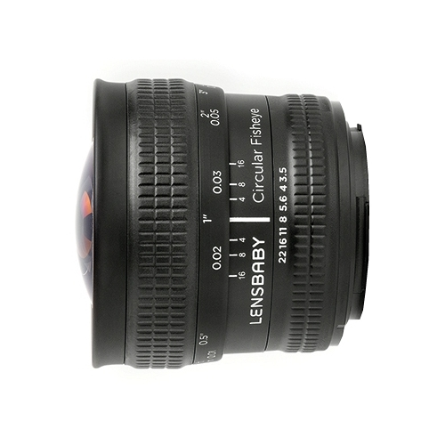 Объектив Lensbaby Circular with Fisheye Sony E Объективы