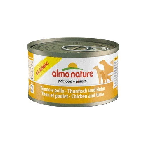 Almo Nature Classic Adult Dog Tuna and Chicken (0.095 кг) 24 шт. Корма для собак