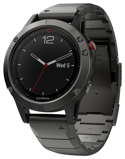 Garmin Fenix 5 Sapphire with Metal Band