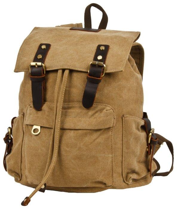 Рюкзак Polar П3062-13 брезент Бежевый 17,2 л