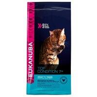 Еукануба (Eukanuba) senior dry cat food top condition 7+ chicken & liver сухой корм для пожилых кошек с курицей 2 кг
