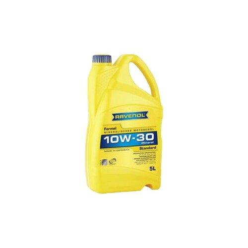 Моторное масло Ravenol Formel Standard SAE 10W-30 5 л моторное масло ravenol euro iv truck sae 10w 40 5 л