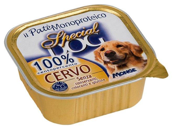 Корм для собак Special Dog Паштет из 100% мяса Оленины