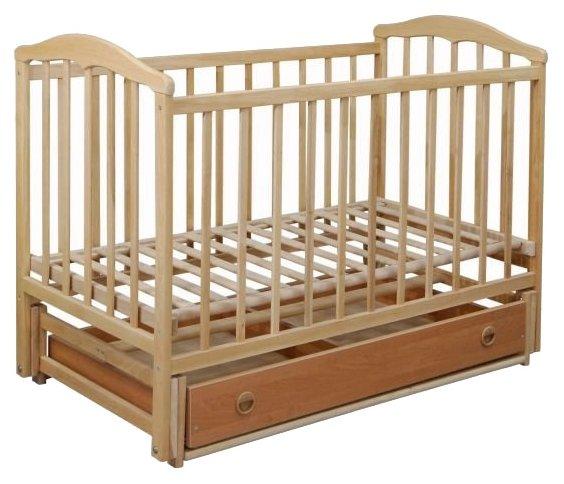 Кроватка Ласка-М Чайка (маятник + ящик)
