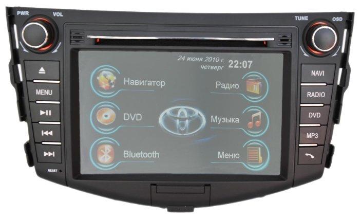 Автомагнитола MOTEVO Toyota RAV4 старше 2009 г