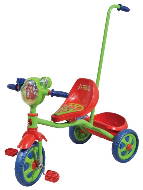 Трехколесный велосипед 1 TOY Т57659 Angry Birds