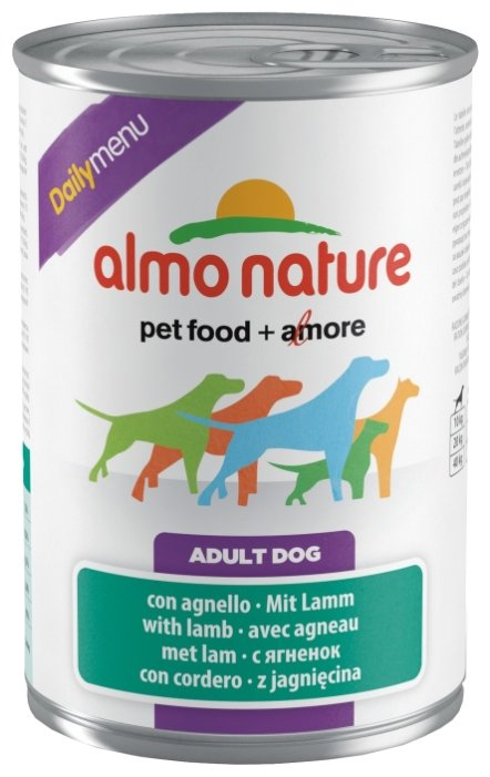Корм для собак Almo Nature Daily Menu ягненок 400г