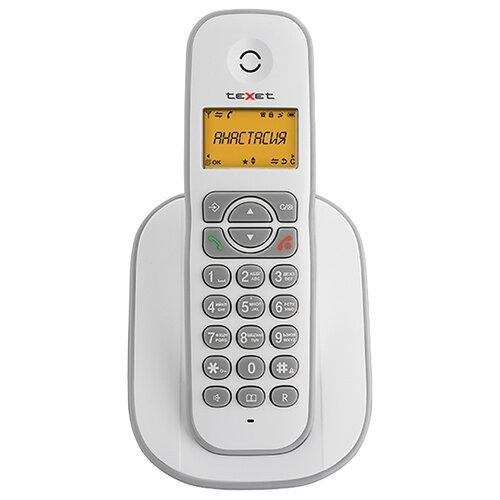 Фото - Радиотелефон teXet TX-D4505A белый радиотелефон texet tx d4505a черный