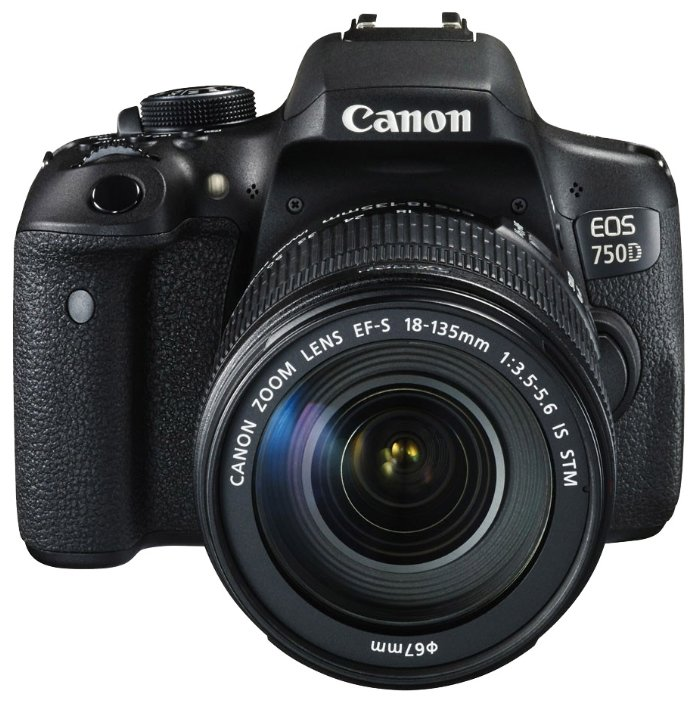 Canon Зеркальный фотоаппарат Canon EOS 750D Kit