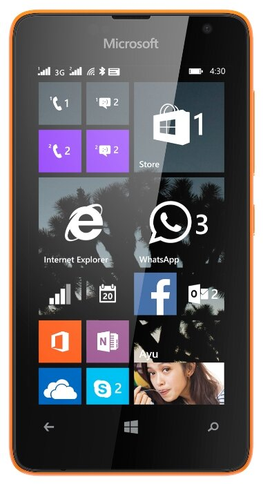 Microsoft 430 Dual sim Orange