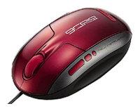 Мышь Elecom M-GRUP2R Red USB+PS/2