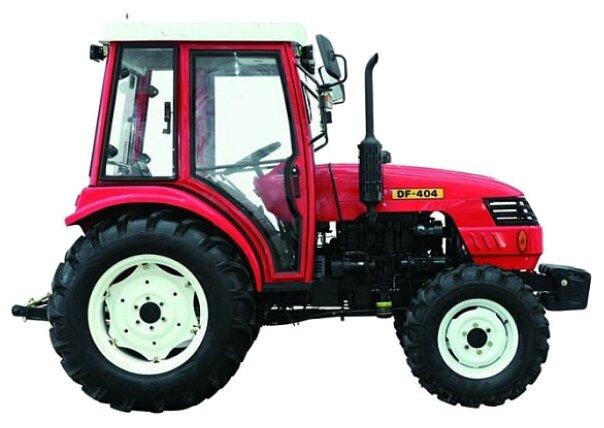 Мини-трактор Dong Feng DF-404 (с кабиной)
